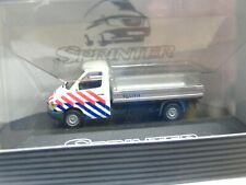 1//87 busch praline MB 170 V pickup negro//azul 81513