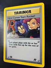 Pokemon - 1st Ed. HERE COMES TEAM ROCKET 15/82 - Team Rocket - Holo - NM