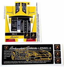 REPLACEMENT STICKERS for Lego 8169 Lamborghini Gallardo LP 560-4 DIE CUT + BONUS