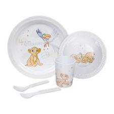 Disney Alimentazione Set Re Leone - Simba Design - Melamina - Coppa Ciotola