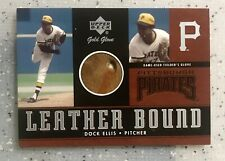 DOCK ELLIS 2001 UPPER DECK GOLD GLOVE LEATHER BOUND GAME USED GLOVE! PIRATES