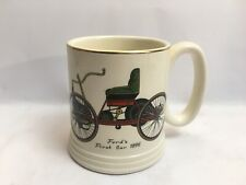 More details for lord nelson pottery fords first car 1886 tankard mug