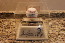 PARKER USA STAG KNIFE WITH TOM SEAVER SIGNED BASEBALL & MARBLE STAND  R1824