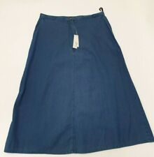 LADIES SKIRT / DENIM / CASUAL - BY DOUBLE TWO WOMAN - 100% COTTON - LS7634A