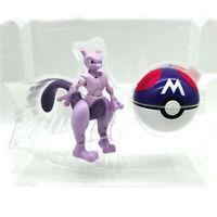 Mewtwo Poké Ball Deformation Doll Pokemon Action Figure Child Gift Toy New Kids