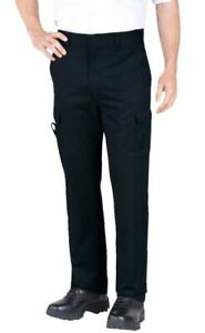 New Dickies Mens EMT Stretch Black Tactical WorkPants-Size 34UL x 28 - 2112377BK