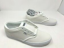 Vans Atwood Leather True White Men's SZ 11 VN0A327LOER