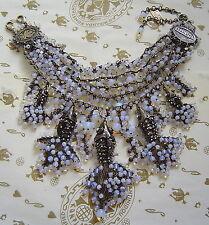 white multi / antique bronze Konplott Chain / Necklace Swimming Caviar