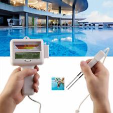 Digital PH Tester Chlorine Level Testing Meter For Swimming Pool Spa hot Spring