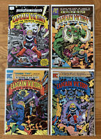 Captain Victory: Graphite Edition #1 TwoMorrows + Issue 3, 12, 13 Jack Kirby