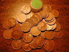 1936-D LINCOLN WHEAT CENT PENNY ROLL, HIGH GRADE!! VF-XF!!!!!