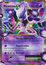 x1 Mewtwo EX - 52/108 - Holo Rare ex Pokemon XY Evolutions M/NM