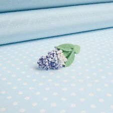 LILAC  LAPEL PIN    hand-painted flower jewellery   MADE IN WALES UK