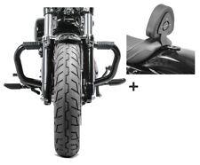 Barra antipánico + sissybar dv1 para Harley Sportster Forty-eight 48 10-20
