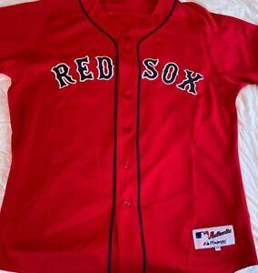 Authentic David Ortiz Alternate Majestic Boston Red Sox Jersey Size 48