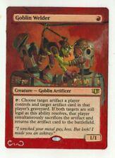 Goblin Welder Altered Full Art MTG Magic Commander EDH Birthday Gift Goblins