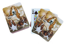 Basset Hound Breed of Dog Pack Playing Deck of Cards Game Perfect Gift