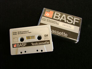 BASF Professional Cassette Dolby-Calibration Tape - EQ, Azimuth, F/Res - 790244