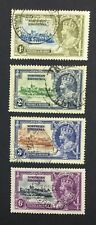 MOMEN: NORTHERN RHODESIA SG #18-21 1935 USED £20 LOT #5043