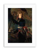 GROS NAPOLEON BONAPARTE ARCOLE BRIDGE Poster Painting Portrait Canvas art Prints