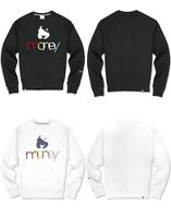 Money Clothing Mens Crew Neck Sweatshirt Graphic Sweater Jumper Top Gym Colours