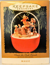 Hallmark: Winnie The Pooh Parade - Motion & Music - 1994 Keepsake Ornament