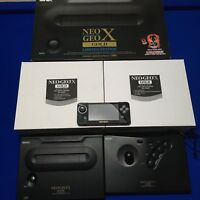 Neo Geo X Gold Limited Edition - 20 AES Video Games inc Metal Slug - Boxed Mint