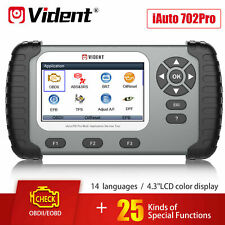 VIDENT iAuto 702Pro Car Diagnostic Tool OBD2 Scanner for ABS SRS DPF EPB TPMS UK
