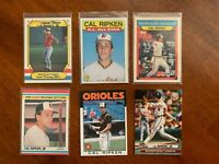 HOF Cal Ripken Jr - Baltimore Orioles Baseball Card (Lot of 11)