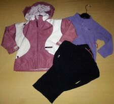 LOT FILLE AUTOMNE HIVER-ANORAK DECATHLON- SWEAT POLAIRE-PULL ZARA-4 ANS