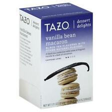 Tazo Dessert Delights Black Tea, Vanilla Bean Macaron - 15 bags, 1.11 oz box