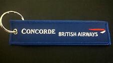 BRITISH AIRWAYS *** CONCORDE *** REMOVE BEFORE FLIGHT TAG !!!