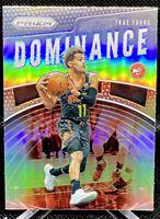 Trae Young 2019-20 Panini Prizm Dominance Silver Prizm #25 Atlanta Hawks