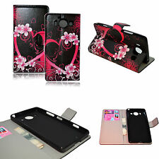 Wallet Style Leather Phone Case Cover Stand Skin For Microsoft Nokia Lumia 950