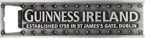 Guinness Ireland Girder Heavyweight  Metal Bottle Opener/ Fridge Magnet (sg5290)
