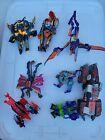 Transformers Beast Machines Lot Tankor Jetstorm Quickstrike Geckobot Skydive