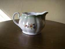 VINTAGE Creamer EUC Opalescent Green & White Floral KAHLA Germany 535