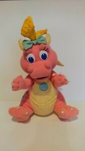 "Playskool Hasbro Dragon Tales Babysitting Surprise Cassie 1999 12"" Plush Doll"