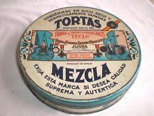 BOITE PUB ANCIENNE FABRICA DE TURRONES TORTAS MEZCLA ESPAGNE