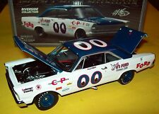 A J Foyt 1965 Ford Galaxie #00 Vels Ford Eyeballs Riverside 1/24 NASCAR Legends