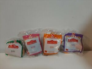 1998 McDonald's Happy Meal Toys Lot of 4 The Lion King II Simba's Pride Plush