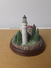 Thomas Kinkade - Seaside Memories Lighted Lighthouse - Clearing Storms