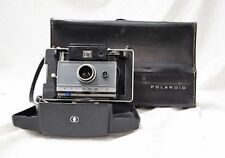 VINTAGE POLAROID AUTOMATIC LAND CAMERA WITH FLASH AND CASE