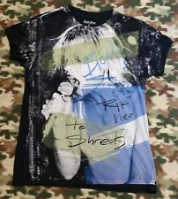 """Lucky Tees Brand """"Rip Her To Shreds"""" BLONDIE  Rock Star  T-Shirt Size XL Womens"""