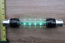 "Version 2 See-Thru Radiator Hose Sight Glass Assembly Pyrex® w/LEDs 1-1/4"" Hose"