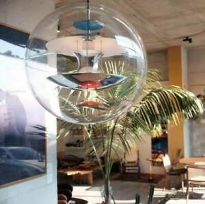 Plexiglass Globe Lighting Ball Pendant Lamp Chandelier Ceiling Light Fixtures