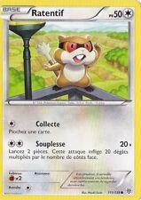 Ratentif -N&B:Tempête Plasma-111/135-Carte Pokemon Neuve Française
