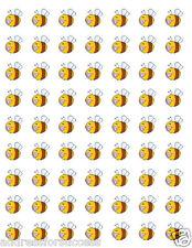 "63 Baby Bee Bumblebee Envelope Seals / Labels / Stickers 1"" Round"