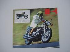 advertising Pubblicità 1974 KAWASAKI 750 MACH IV H2
