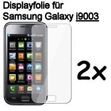 2x Pellicola Pellicola Protettiva Protezione Display per Samsung Galaxy S i9003 gt-i9003